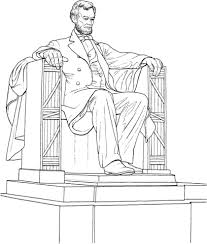the lincoln memorial coloring page free printable coloring pages