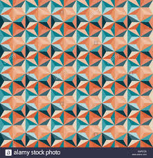 vector seamless geometric triangle tiling pattern in teal and