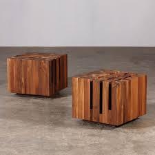 Rustic Wood And Metal Coffee Table Coffee Table Solid Block Coffee Table Rustic Wood With Metal Legs