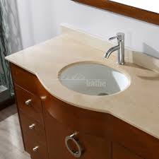 Beige Bathroom Vanity by Zoe 48 Inch Modern Cherry Bathroom Vanity Set Gala Beige Top