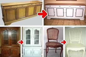 relooker armoire cuisine quelle peinture utiliser pour repeindre en clair des meubles en bois