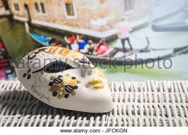 authentic venetian masks authentic venetian mask from a carnival festival against a white
