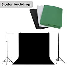 white backdrop photography floureon background stand support system kit photography set 10 x