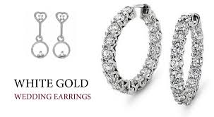 types of earrings for women diamond earrings set for women white gold earrings collections