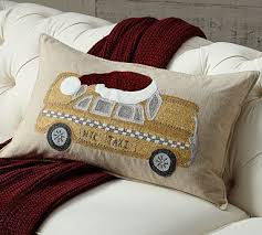 Pottery Barn Lumbar Pillow Covers 200 Best Pottery Barn Christmas Images On Pinterest Curtains
