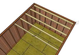 12x16 barn shed roof with loft howtospecialist how to build