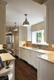 4 decorating ideas u2013 how to make a galley kitchen look bigger