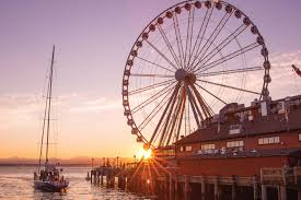 Seattle Tourist Map by Waterfront Visit Seattle
