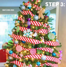 the easiest way to decorate a tree