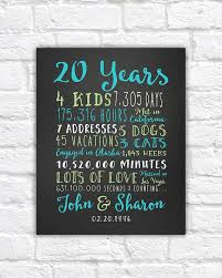 anniversary gift for parents 20 year wedding anniversary gift ideas gift ideas bethmaru