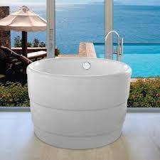 Lucite Bathtub Boyce Acrylic Freestanding Tub Wayfair