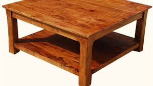 Furniture Homemade Coffee Table Solid Wood Coffee Table by Table Solid Wood Big Square Coffee Table With Lcd Television
