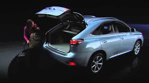 lexus hybrid suv 7 seater 2010 lexus rx 350 power rear door u0026 rear seats youtube