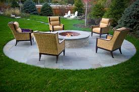 outdoor fire pit in highland park van zelst
