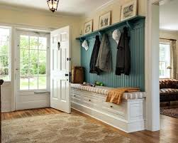 entrance way bench image of entryway bench and coat rack ideas diy