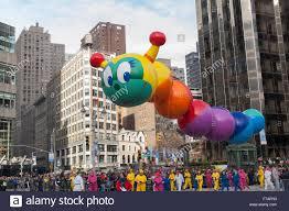 new york ny usa november 26 2015 wiggle worm balloon