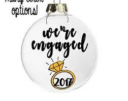 just engaged gifts etsy