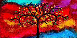 best painting best art choice award original abstract oil painting modern trees