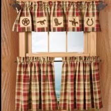 Western Drapery Fabric Western Inspired Window Treatments