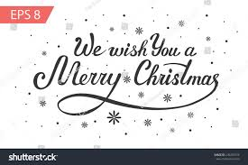 we wish you merry vector stock vector 236253574