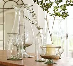 decorative vases u0026 faux flowers pottery barn