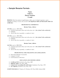 Sample Resume Qualifications And Skills by Skills List Resume Qualifications List Sample Resume Format