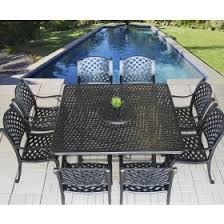 Nassau Outdoor Furniture by Tortuga Outdoor Patio 9pc Dining Set For 8 Person With Square