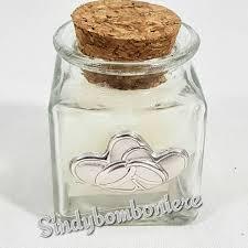 barattoli portaspezie bomboniere matrimonio vasetti portaspezie cuori argento fai da te