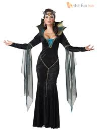 ladies evil queen sorceress fairytale womens halloween fancy