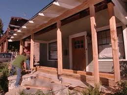 Houses With Porches How To Repair A Sagging Support Beam How Tos Diy