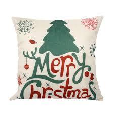 aliexpress com buy fengrise 45x45cm pillow case christmas
