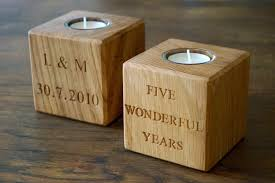 5 year wedding anniversary gift ideas 5th wedding anniversary tbrb info