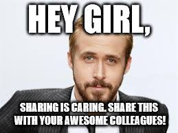 Sharing Meme - sharing imgflip