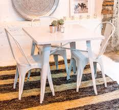 Tolix Bistro Chair Velvet Living