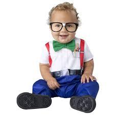 Bow Tie Halloween Costumes Infant Boys U0026 Girls Baby Nerd Halloween Costume Jumpsuit Bow Tie