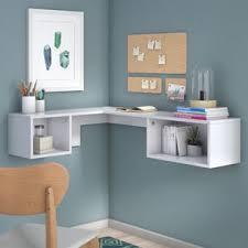 Wall Mounted Desk Shelf Floating Desks You U0027ll Love Wayfair