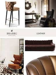leather the trendiest materials for your home decor in 2017