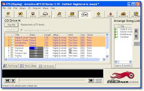 download free mp3 to cd converter burner music burning software acoustica mp3 cd burner free download