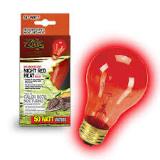 Red Led Light Bulb by Zilla Night Red Heat Incandescent Bulb 50 Watts Petco