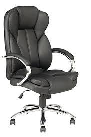 Executive Office Furniture Amazon Com Black High Back Pu Leather Executive Office Desk Task