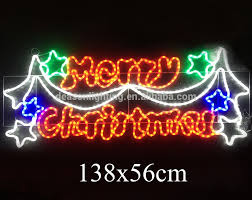 creative decoration lighted signs outdoor merry sign