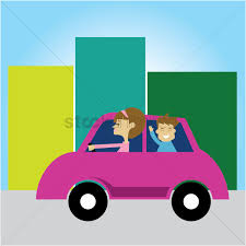 teal car clipart mother driving a car with son vector image 1271682 stockunlimited