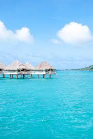 bora bora by sea overwater bungalow champagne u0026 paper planes