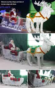 awesome outdoor lighted sleigh part 12 star wars christmas