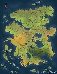 Fantasy Map Non Standard Fantasy Map By I Am Fish Mage On Deviantart