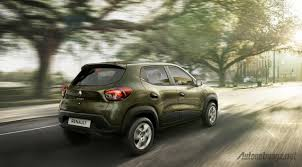 small renault renault kwid starts small suv segment in india autonetmagz