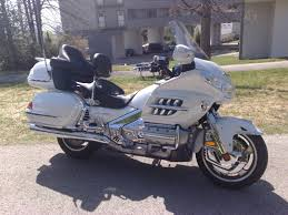 gold motorcycle honda gold wing gl1800 motorcycle review
