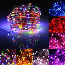Battery Run Fairy Lights by 32m Solar Powered Led String Copper Wire Fairy Light Christmas