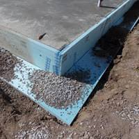 How To Insulate Basement Walls by Exterior Basement Insulation Applications Dow Building Solutions