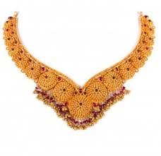 gold orange necklace images Hr 77 gold necklace at rs 171290 sone ka har jpg